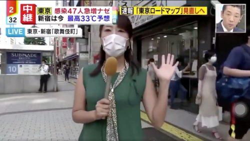 ミヤネ屋-新宿歌舞伎町-パンチ乱入男